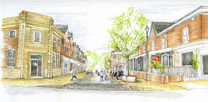 £200k funding from SMBC for Heaton Moor Street Improvements