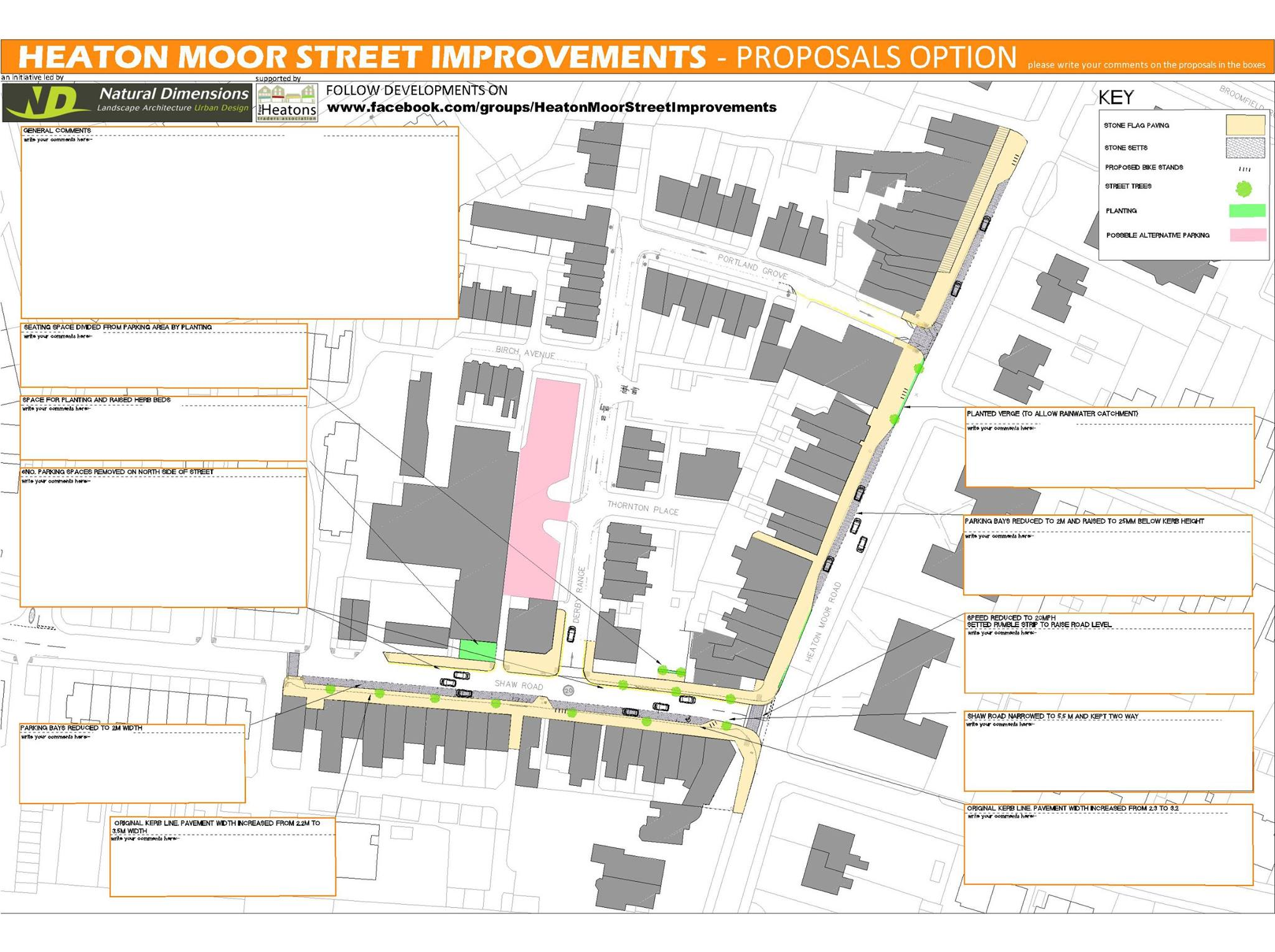 Heaton Moor Street Improvements: The Story