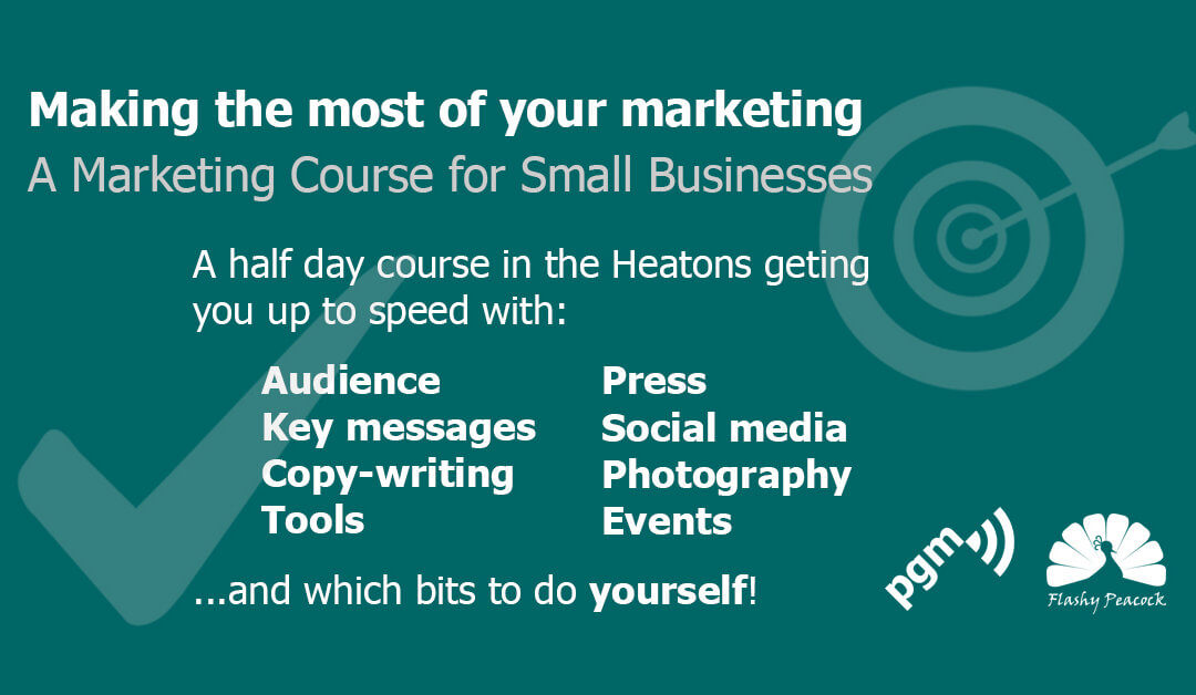 Get a firm grip on your marketing with new course