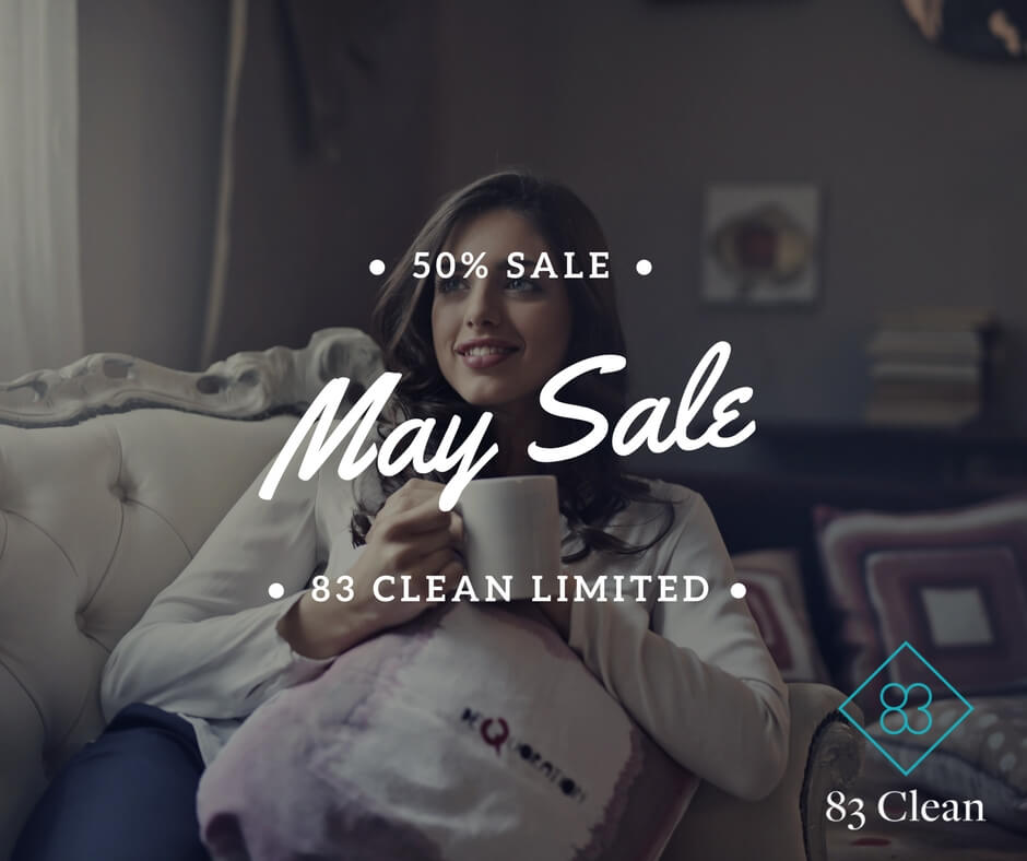 Limited Time – 50% Pre-Summer Domestic Cleaning Offer