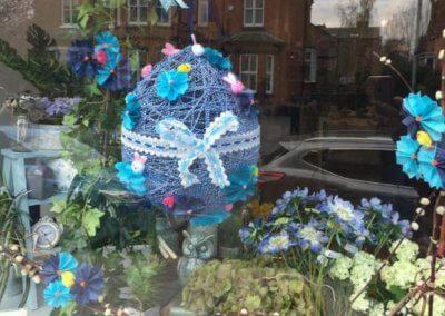 Blue Door Flowers Easter Egg Trail 2019