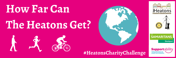 Take Part in The Heatons Charity Challenge this Summer!